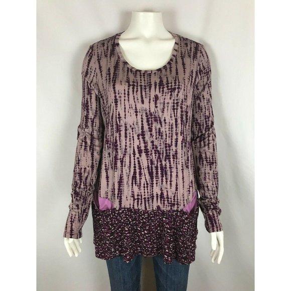 LOGO Lori Goldstein Womens Shirt Size Medium